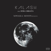 Copertina del remix di Mwaka Moon del rapper francese Kalash